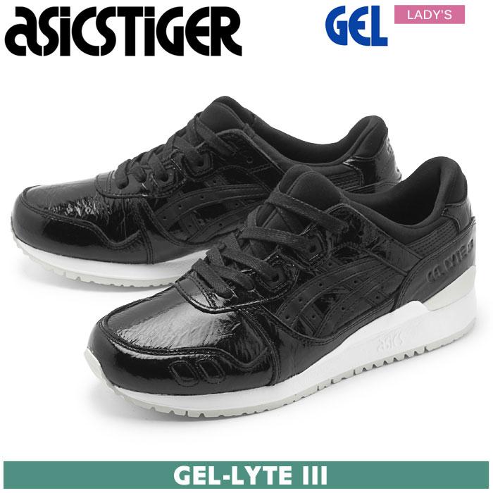 【ASICS TIGER】 アシックスタイガー シューズ ゲル ライト 3 ブラック×ブラック ASICS GEL-LYTE 3 HL7Q5 9090 スニーカー 靴 スポーツ トレーニング 黒 レディース