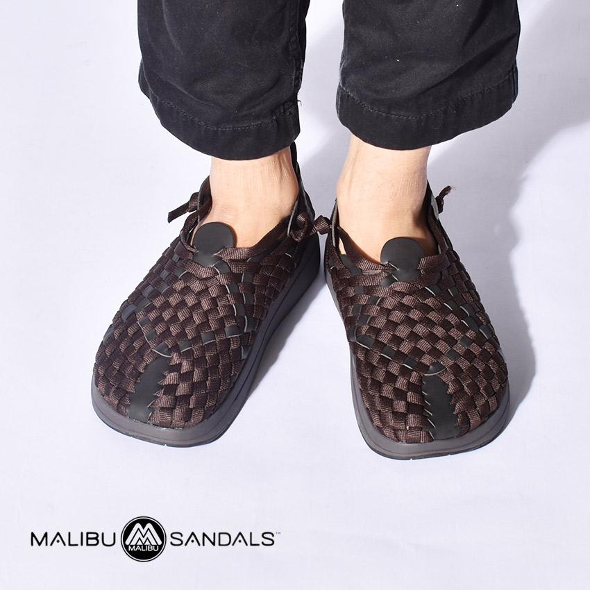 マリブサンダルズ MALIBU SANDALS コンフォート サンダル ラティゴ バイソン×ブラック (MALIBU SANDALS NYLON LATIGO MS17 0003) メンズ レディース 黒