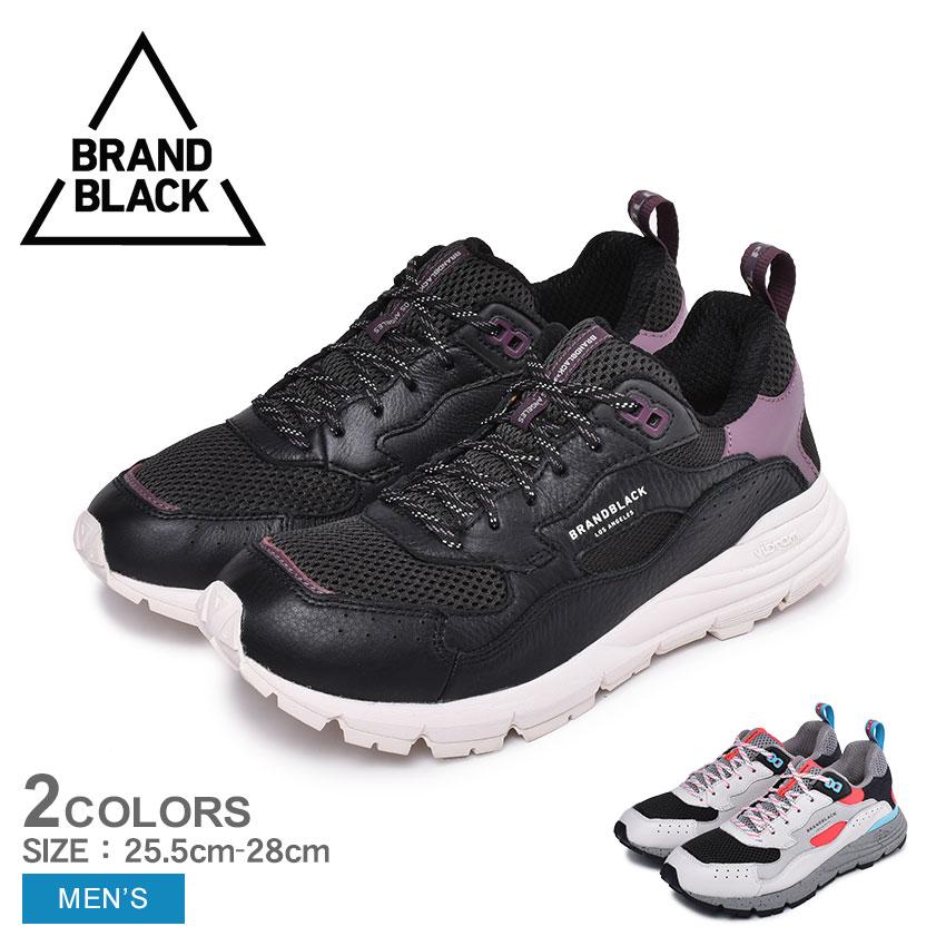 【BRAND BLACK】ブランドブラック スニーカー NOMO ノモ 428BB メンズ スポーツ カジュアル ブランド ローカット ダッドシューズ 厚底 ランニング 通学 通勤 運動 靴 黒 白
