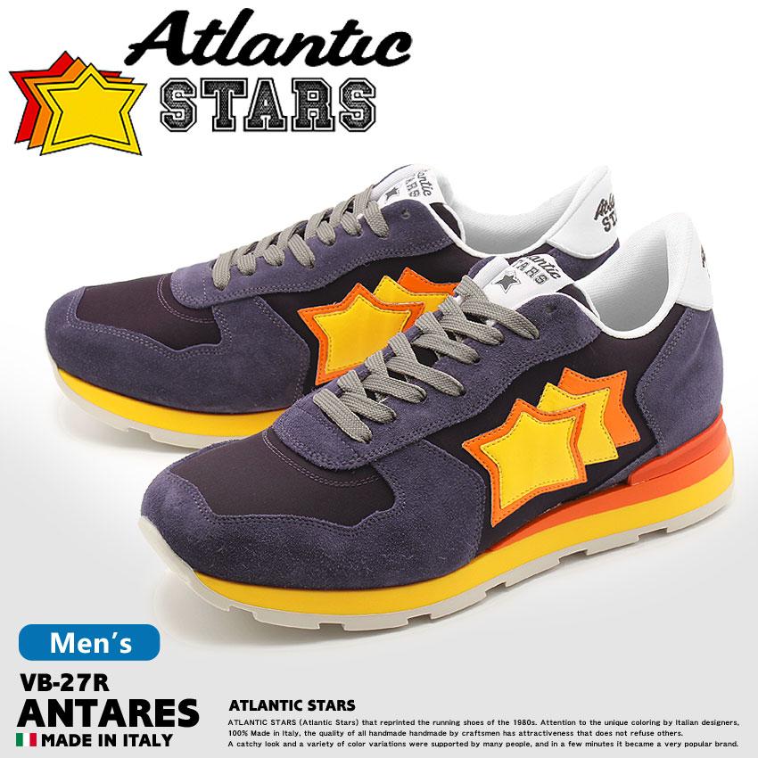 【最大500円引きクーポン】★送料無料 ATLANTIC STARS アトランティックスターズ スニーカー ネイビーアンタレス ANTARESVB-27R メンズ