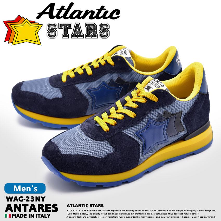 【最大500円引きクーポン】★送料無料 ATLANTIC STARS アトランティックスターズ スニーカー ブルーアンタレス ANTARESWAG-23NY メンズ