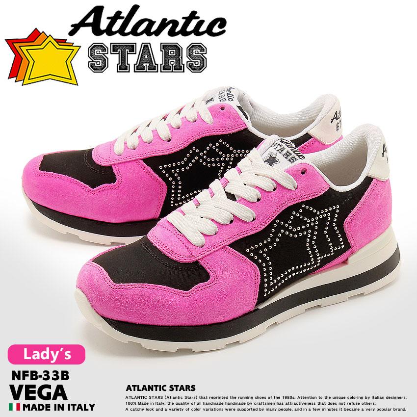 【ATLANTIC STARS】 アトランティックスターズ スニーカー ピンク ベガ VEGA NFB-33B レディース