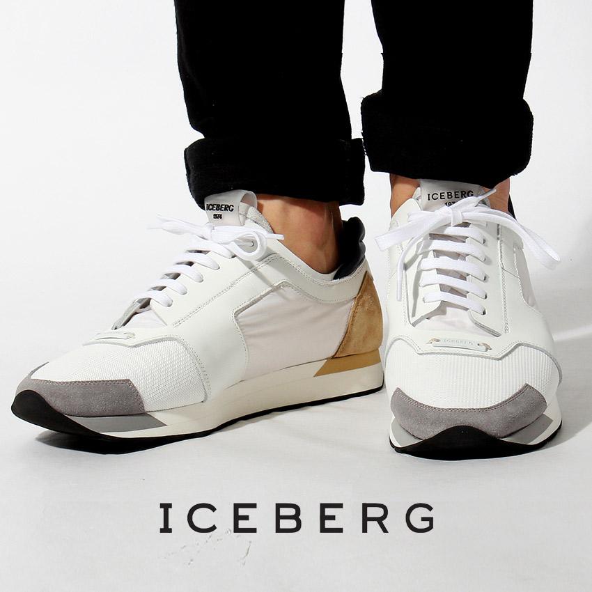 アイスバーグ ICEBERG スニーカー 16EIU403C メンズ MEN シューズ ローカット 天然皮革 スニーカー