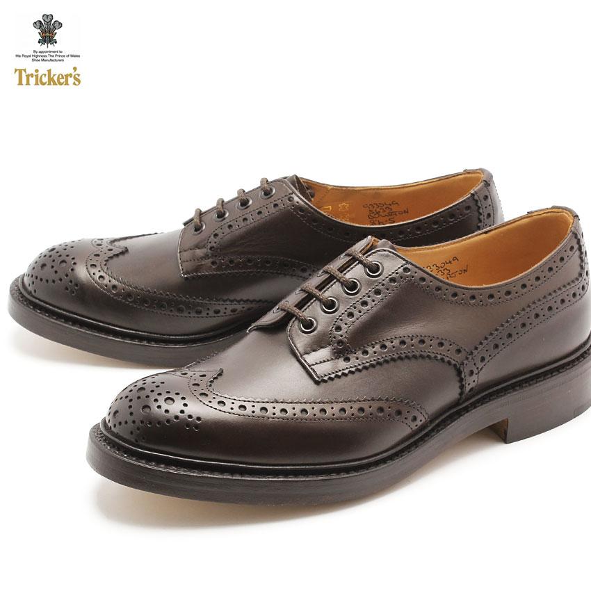 トリッカーズ TRICKER'S カントリー バートン エスプレッソバーニッシュ ダブルレザーソール TRICKERS (TRICKER'S 5633 2 COUNTRY BOURTON) メンズ MEN