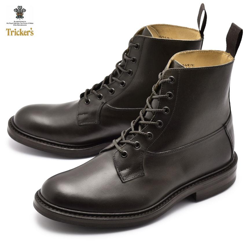 【TRICKERS】 トリッカーズ バーフォード BURFORD 5635/4 ドレスブーツ ブラック メンズ ブーツ イギリス ブランド おしゃれ レザー 革靴 黒