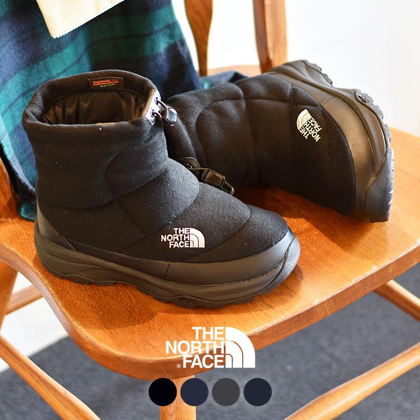 【THE NORTH FACE】 ザ ノースフェイス スノーブーツ ヌプシ ブーティー ウール V ショート NUPTSE BOOTIE WOOL V SHORT NF51979 ユニセックス ウィンター ブーツ アウトドア ブランド 防水 撥水 雪 カジュアル