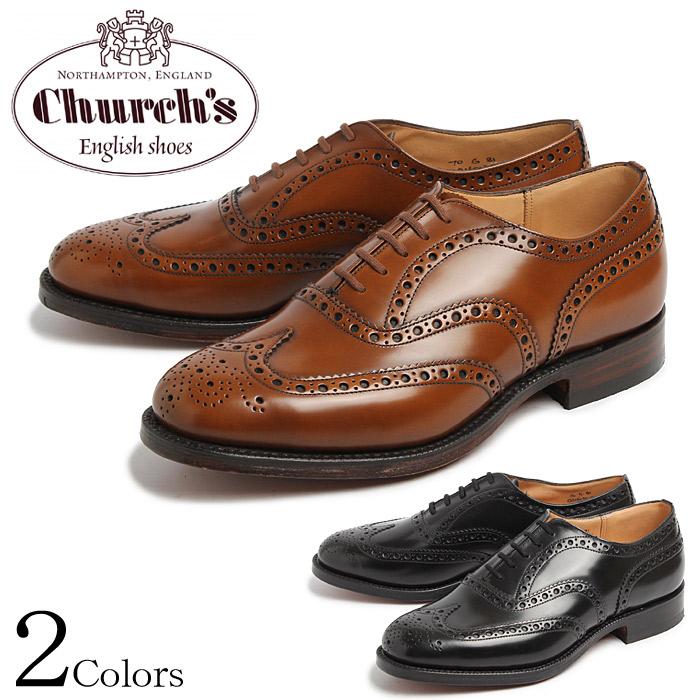 【CHURCHS BURWOOD】 チャーチ 紳士靴 ブラウン ブラック バーウッド ウイングチップ ポリッシュドバインダー サンダルウッド 革靴 レザー ビジネスシューズ ドレスシューズ CHURCH'S 7340 BURWOOD 81 POLISHED BINDER BLACK SANDALWOOD メンズ 通勤 おしゃれ