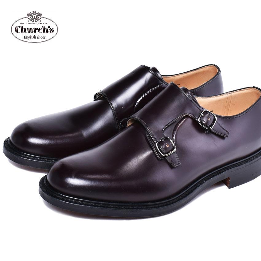 【CHURCHS】 チャーチ 紳士靴 ブラウン 本革 ドレスシューズ バーガンディー 革靴 ビジネスシューズ ランボーン LAMBOURN 6170 54 メンズ 通勤