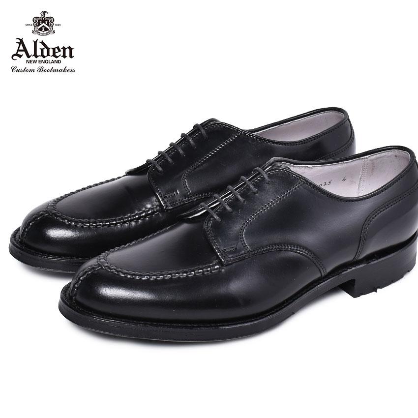 ALDEN オールデン ドレスシューズ クロムエクセル コマンドソール CHROMEXCEL COMMANDO OUTSOLE M9610C メンズ ブランド シューズ トラディショナル ビジネス フォーマル 馬革 革靴 靴 紳士靴 黒 通勤 通学 会社員 大人 高級靴