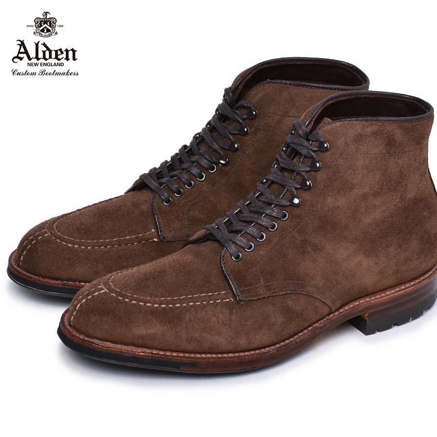 オールデン コードバン ブーツ メンズ ALDEN タンカーブーツ 靴 シューズ おしゃれ 人気 トラディショナル ビジネス フォーマル 馬革 革靴 靴 紳士靴 ブラウン 茶 M7909 CY TANKER BOOT