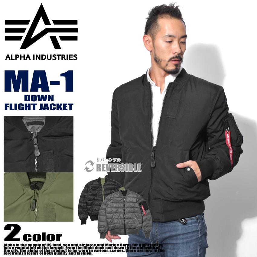 【限定クーポン配布】 【アルファ インダストリーズ】 ALPHA INDUSTRIES メンズ MA-1 ダウン フライトジャケット MA-1 DOWN FLIGHT JACKET MJM48510C1