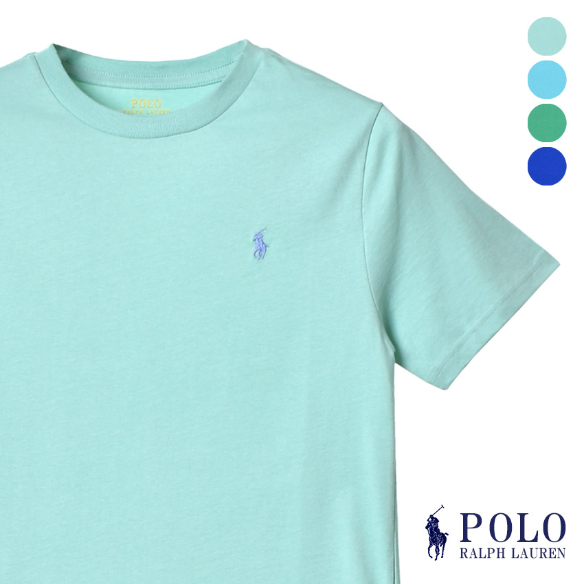 super popular 562a5 11f40 Polo Ralph Lauren T-shirt short sleeves Lady's men one point logo crew neck  cotton Shin pull Father's Day Mother's Day present tops summer clothes ...