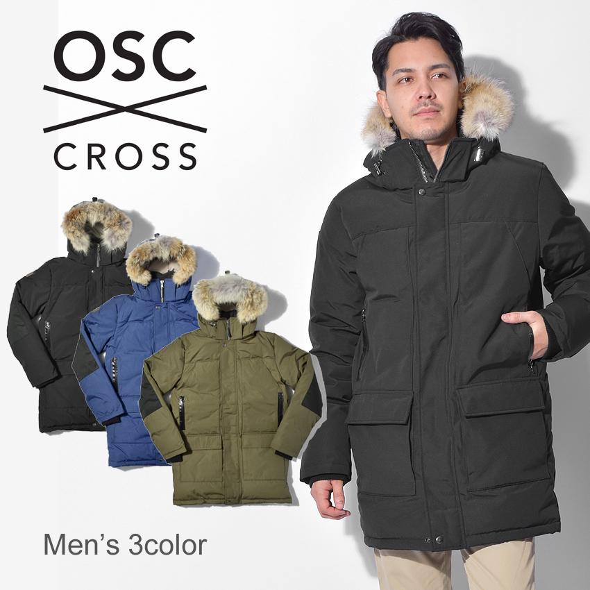 【限定クーポン配布】 OSC CROSS オーエスシークロス ダウンジャケットセントジョーンズ ST JOHNSM22CX メンズ
