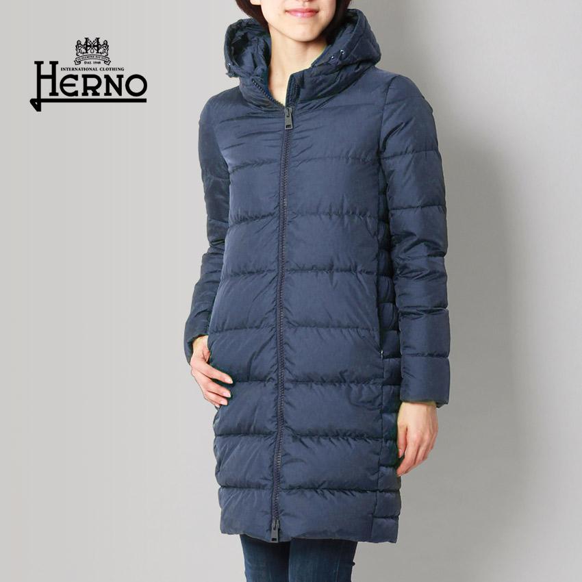 【SALE 限定クーポン配布!】HERNO ヘルノ ジャケット ダウン コート カーキ 他全4色 DOWN JACKET PI0662D-12004 9260 9200 2900 7301 アウター トップス ジップアップ 黒 青 レディース