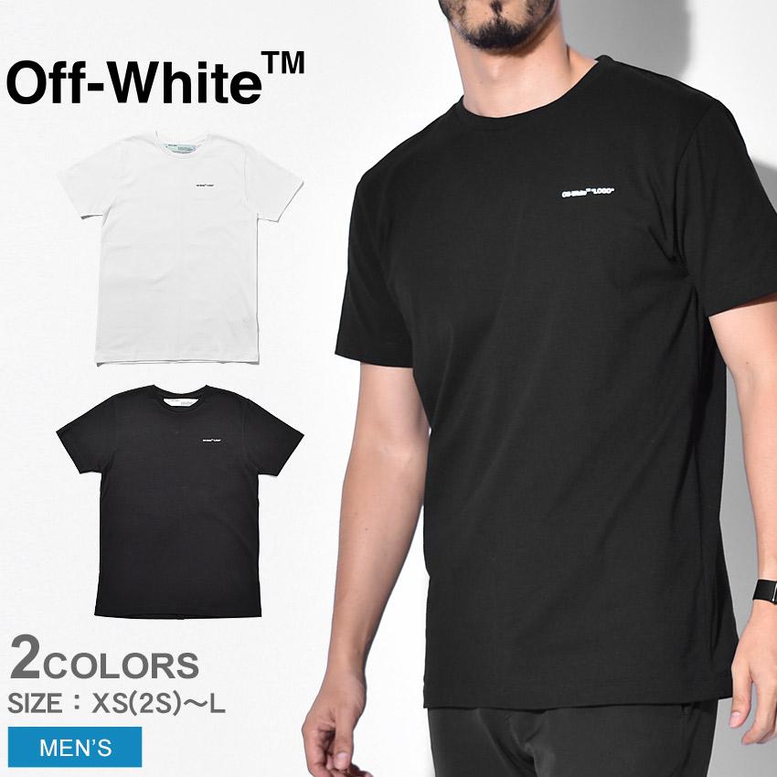 【限定クーポン配布】 【OFF-WHITE】 オフホワイト Tシャツ 半袖 無地 ロゴ スリム LOGO SLIM TEE OMAA027S1918 メンズ ブランド 人気 高級 カジュアル ストリート 夏 服 トップス ウェア おしゃれ シンプル ワンポイント 白 黒