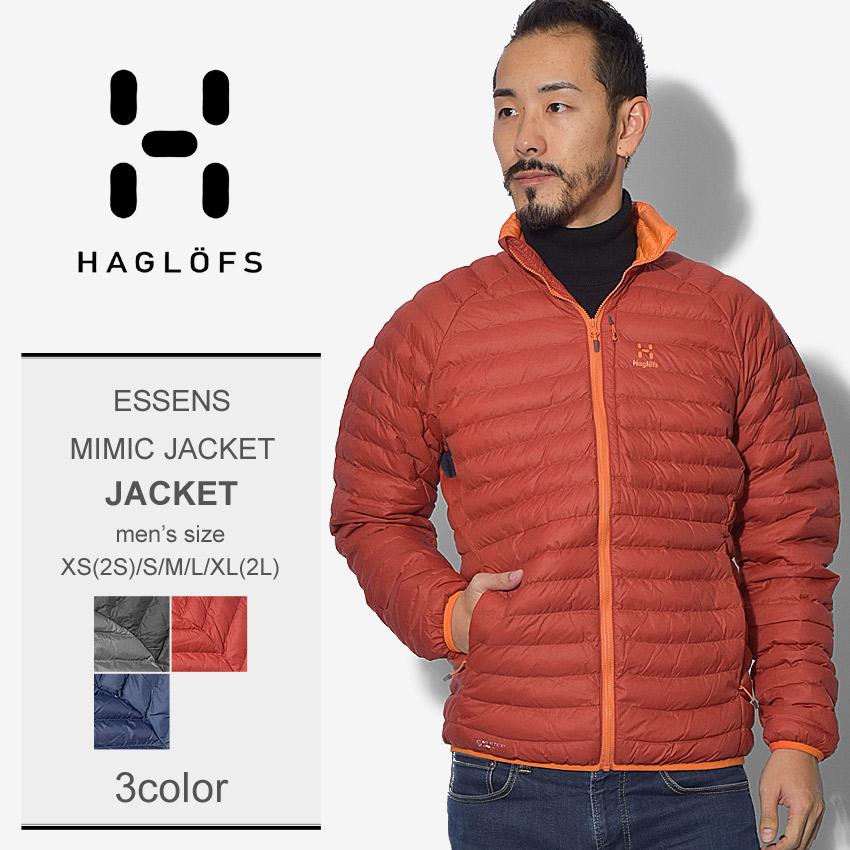 【限定クーポン配布】 HAGLOFS ホグロフス ジャケットエッセンス ミック ジャケット ESSENS MIMIC JACKET604102 2CX 3R8 3PR メンズ
