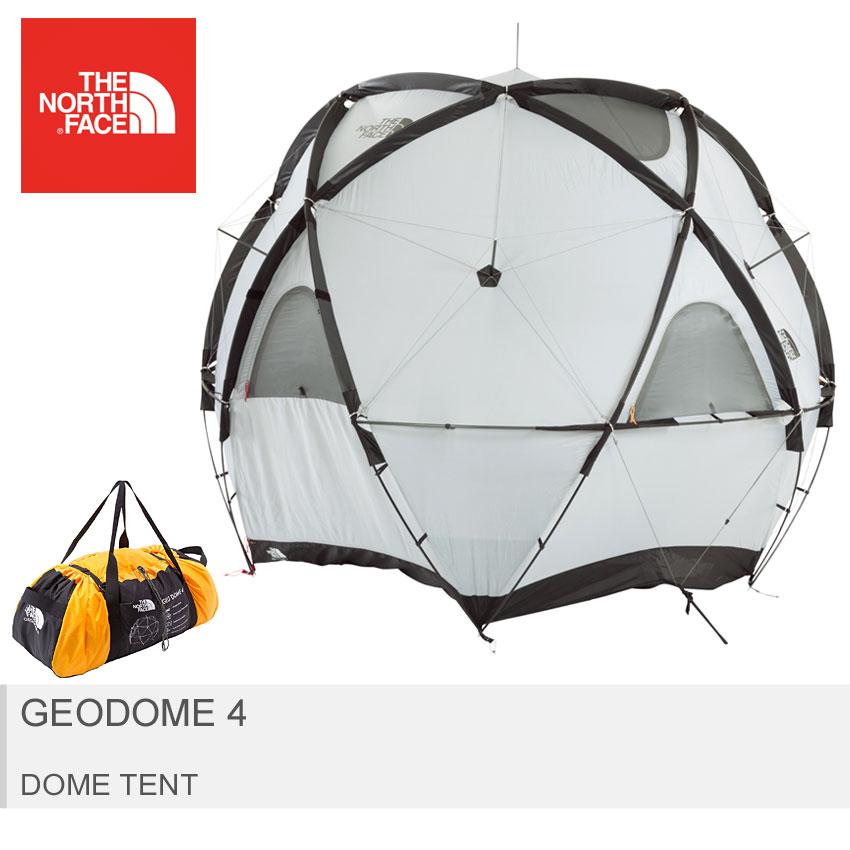 \SALE 9%OFF/ 【THE NORTH FACE】 ザ ノースフェイス テント イエロー ジオドーム4 キャンプ フェス ビーチ アウトドア 4人用 9角形 防水 ドームテント Geodome 4 NV21800 MS03