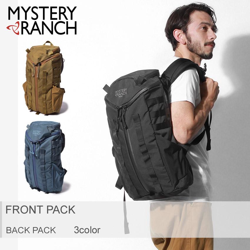 ★送料無料 MYSTERY RANCH ミステリーランチ バッグパック 全3色フロントパック FRONT PACK102843 102509 102914 メンズ レディース