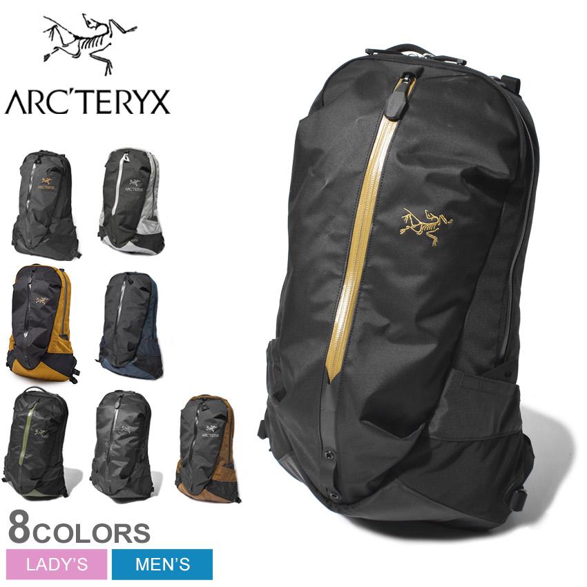 【限定クーポン配布】 ARC'TERYX アークテリクス バックパック ARRO 22 BACKPACK アロー 22 バックパック 6029 メンズ レディース ブランド バックパック リュック 鞄 シンプル カジュアル 黒