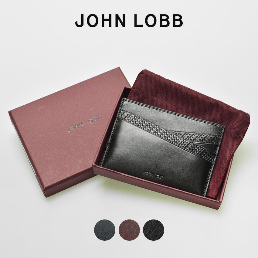 【限定クーポン配布】 【JOHN LOBB】 ジョンロブ レザー カードケース 全3色 ラスプ カード ホルダー RASP CARD HOLDER YS0144L 1R 2B 5A メンズ レディース バレンタイン