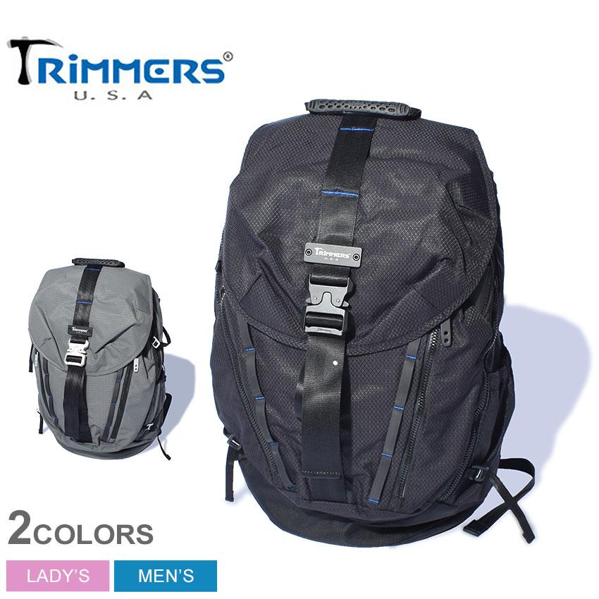 トリマーズ バックパック メンズ レディース TRIMMERS マウントスケーパー 鞄 バッグ リュック ブランド カジュアル ミリタリー アウトドア レジャー 旅行 通学 通勤 機能的 実用性 軽量 耐久性 撥水性 ブラック 黒 グレー 100-TRM-000005