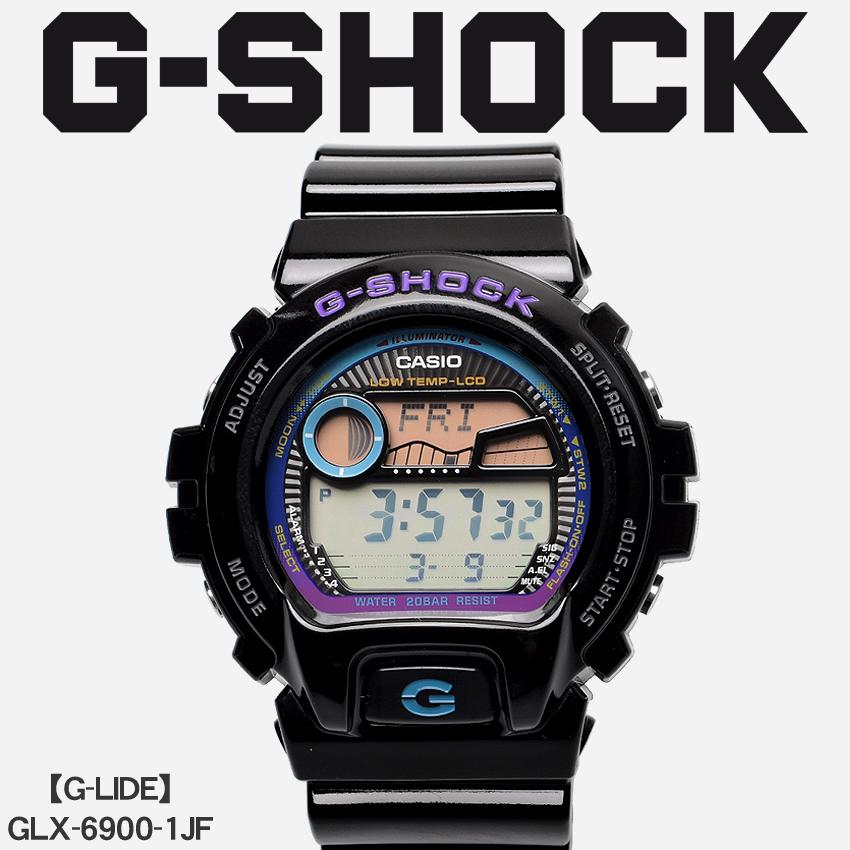 【最大500円引きクーポン】【お取り寄せ商品】 送料無料 G-SHOCK ジーショック CASIO カシオ 腕時計 ブラックジーライド G-LIDEGLX-6900-1JF メンズ 【メーカー正規保証1年】