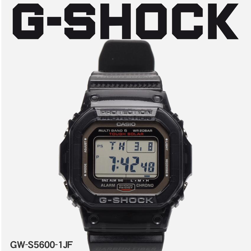 【最大500円引きクーポン】【お取り寄せ商品】 送料無料 G-SHOCK ジーショック CASIO カシオ 小物 腕時計 ブラックアールエムシリーズ RM SERIESGW-S5600-1JF メンズ 【メーカー正規保証1年】