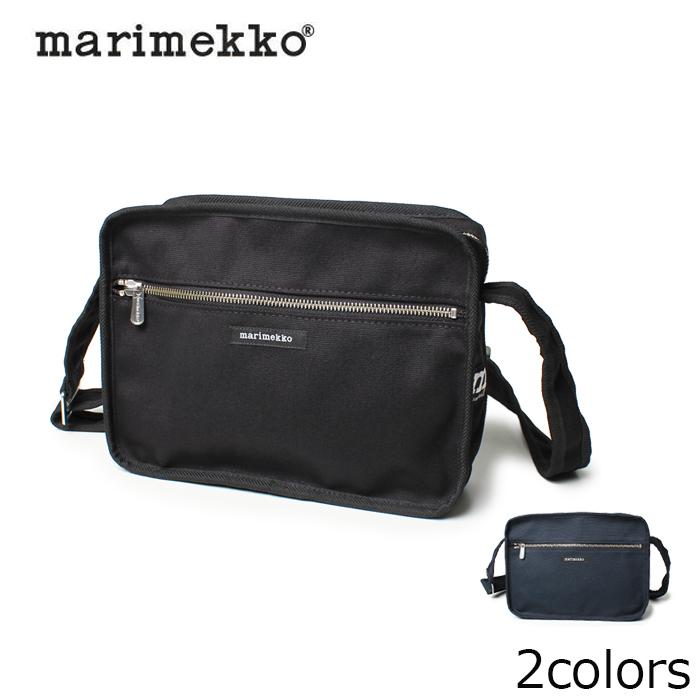 【限定クーポン配布】 マリメッコ MARIMEKKO ショルダーバッグ 斜めがけ キャンバス バッグ CITY BAG 全2色 37797 001 002 レディース(女性用) 鞄 バッグ 無地 肩掛け シティ
