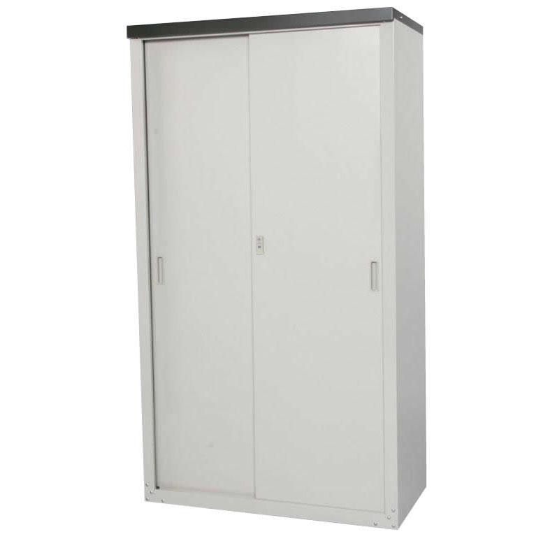 軒下や小スペースを有効に活用できる小型収納庫 供え HS-162 国内送料無料 家庭用収納庫 同梱 代引き不可 162cm