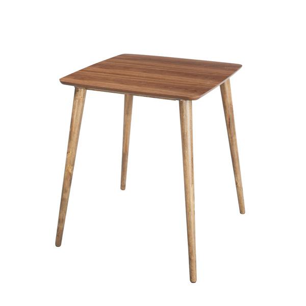 天然木で作られたダイニングテーブル ダイニングテーブル TAC-241WAL【同梱不可】