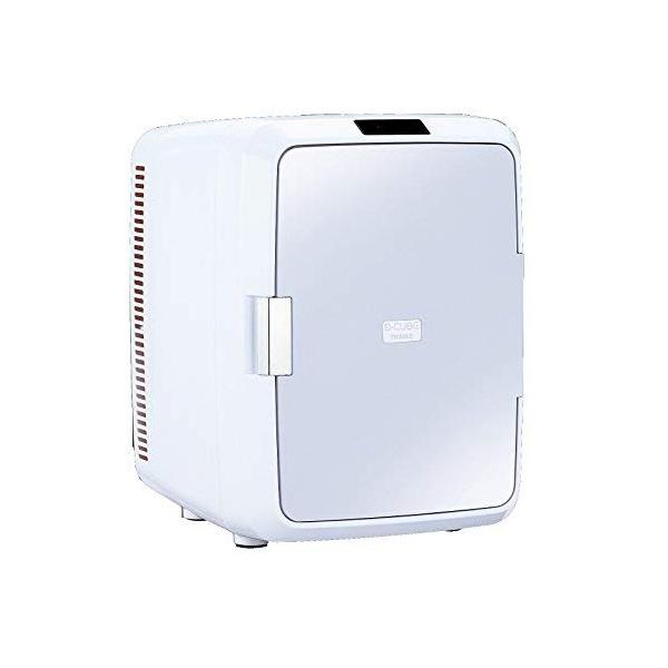 2電源式ポータブル電子適温ボックス D-CUBE X 20L TWINBIRD ツインバード HR-DB08GY グレー 500mlペットボトル12本収納