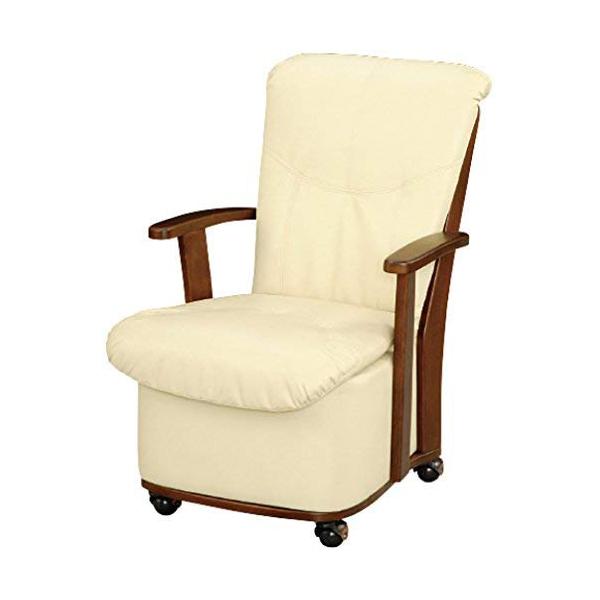 ダイニングこたつ用 椅子 TSF-03 肘付き キャスター搭載 【代引不可】【同梱不可】