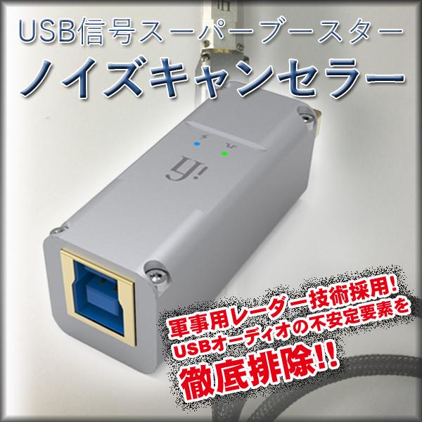 USB信号スーパーブースター ノイズキャンセラー iFI-Audio iPurifier2(A) Aタイプ USBノイズフィルター 【代引不可】【同梱不可】