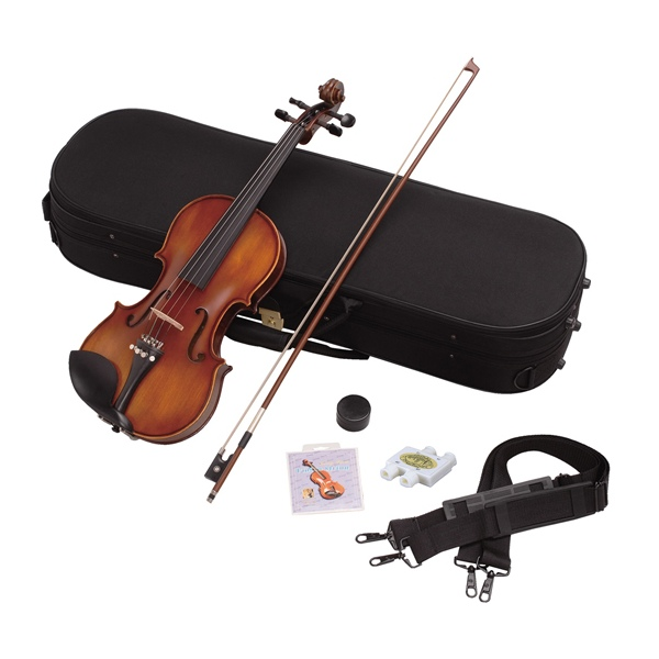 バイオリン初心者入門6点セット【4/4サイズ大人用】Hallstatt(ハルシュタット)V22【同梱/代引不可】【同梱不可】