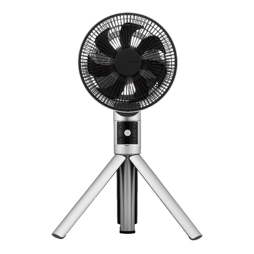 【アウトレット】リビング扇風機 ファン 20cm羽根 Fシリーズ 扇風機 kamomefan カモメファン FKLS-201DS シルバー