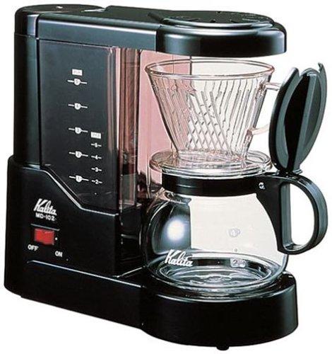 浄水機能付Kalita(カリタ)家庭用電動コーヒーメーカー(約5杯分)MD-102N
