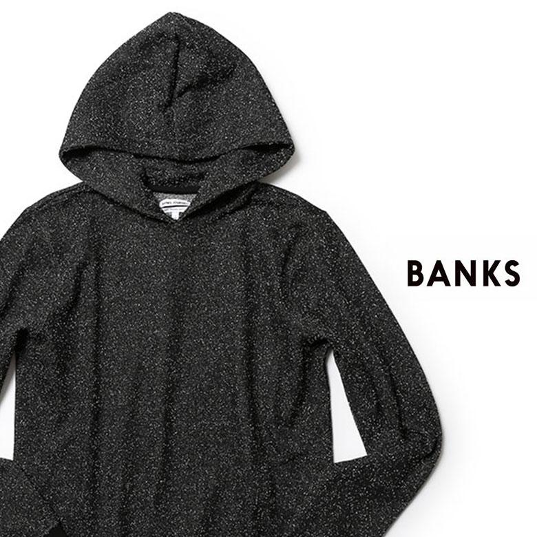 BANKS アーバンリゾートなスウェットパーカー バンクス パーカー スウェット プルオーバー セットアップ対応 あす楽対応 送料無料 爆売り ランキング総合1位 2021SS 春夏 レ15 メンズ