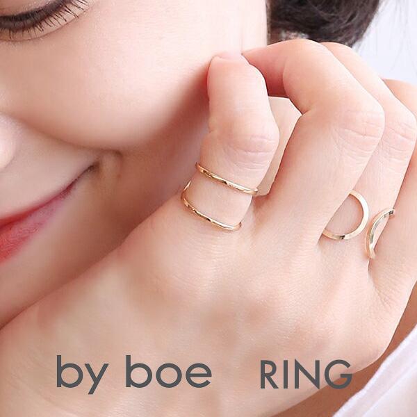【年内お届け】BY BOE ピンキーリング 指輪 ゴールド MR21 バイボー アニカイネズ ANNIKA INEZ かわいい おしゃれ アクセサリー レディース バイボウ アメリカ製 ハンドメイド【レ15】