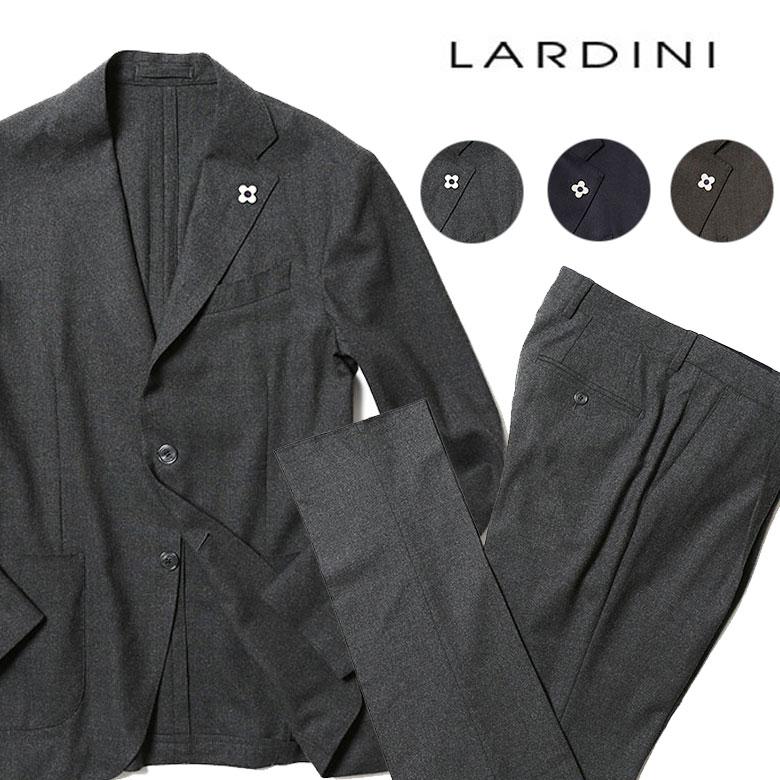 ラルディーニ パッカブル トラベルスーツ EASY WEAR スーツ メンズ ストレッチ lardini 【送料無料】【あす楽対応】
