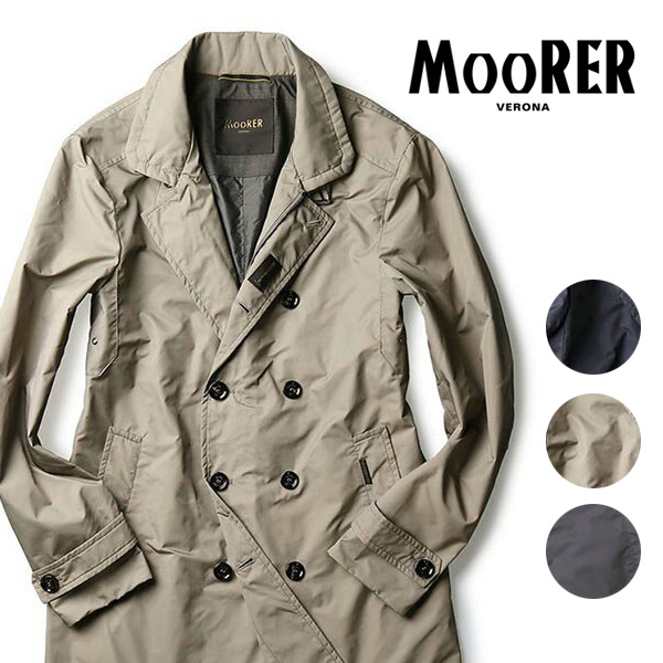 MOORER double-breasted topcoat 2016 SS spring summer MORANDI-KM made in  Italy mens Moore 44   46   48 down father s day father s day gift c74197084cc