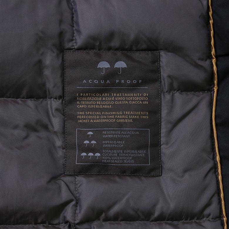 MOORER Mu radar yes down down jacket men made in N-3B perfection cold  protection layer demi dollar length nylon BALDO KL black Italy d6f9b3e20cf