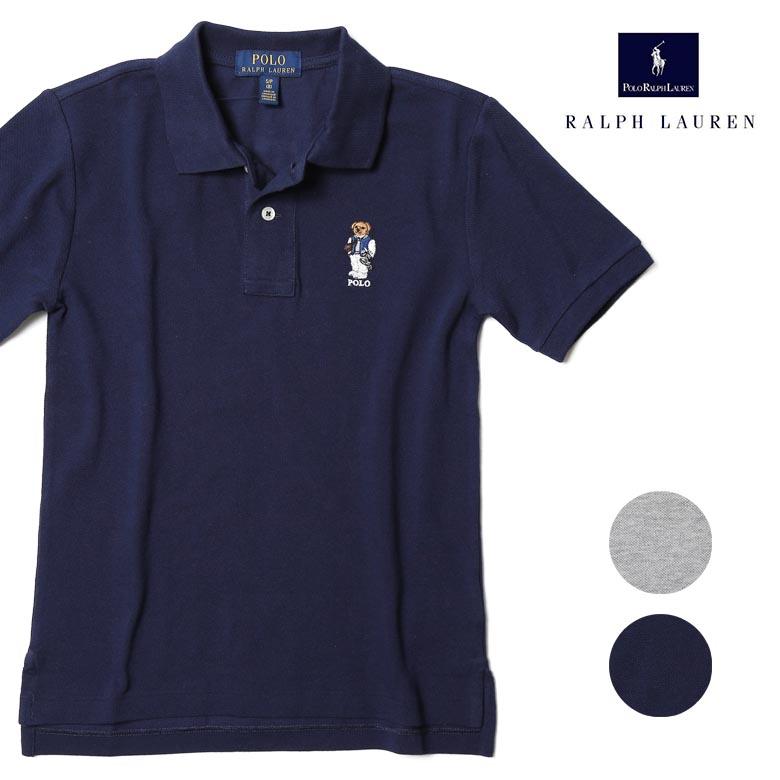 RALPH LAUREN レディースに 送料込 大人気のポロベアー刺繍ポロシャツ オンラインショップ 30%off ラルフローレン ポロシャツ レディース 送料無料 USボーイズ規格サイズ 刺繍 返品不可 ポロベアー POLO レ15