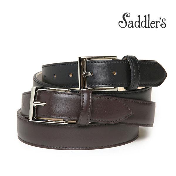【年内お届け】サドラーズ ベルト 3cm カーフ フォーマル シンプル スクエアバックル SG01 Saddler's メンズ 【あす楽対応】【レ15】