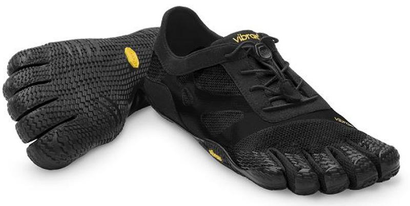 【店内全品ポイント10倍】ビブラム Vibram ファイブフィンガーズ レディース KSO EVO Black / ブラック 14W0701 《五本指 シューズ FiveFingers ベアフット トレーニング インドア フィットネス ランニング ウォーキング 靴》