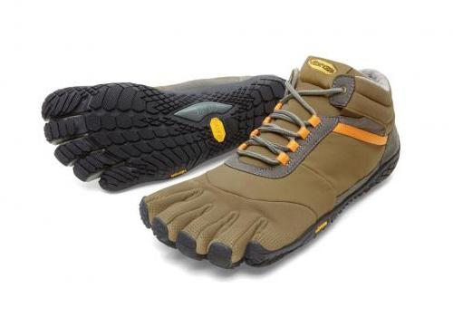 【店内全品ポイント10倍】ビブラム Vibram ファイブフィンガーズ メンズ TREK ASCENT INSULATED Khaki-Orange / カーキ-オレンジ 15M5301 《五本指 シューズ fivefingers ベアフット トレーニング ランニング 靴》