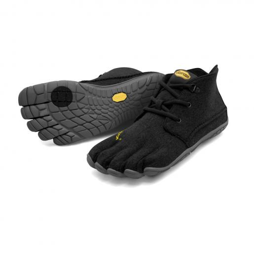 【スーパーSALE限定20%OFF】ビブラム Vibram ファイブフィンガーズ レディース CVT-WOOL Black-Grey / ブラック-グレイ 15W5803 《五本指 シューズ fivefingers ベアフット トレーニング ランニング 靴》