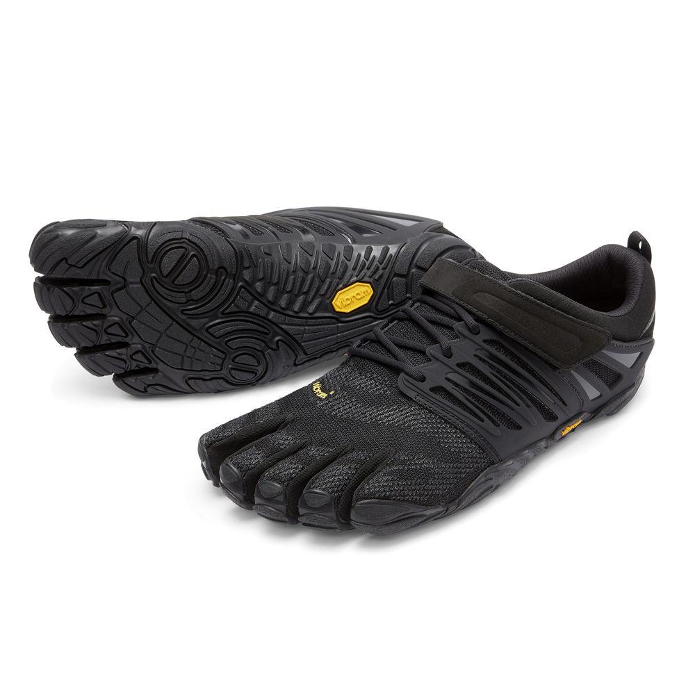 【スーパーSALE限定20%OFF】ビブラム Vibram ファイブフィンガーズ メンズ V-Train Blackout / ブラックアウト 17M6601 《五本指 シューズ fivefingers ベアフット トレーニング ランニング 靴》