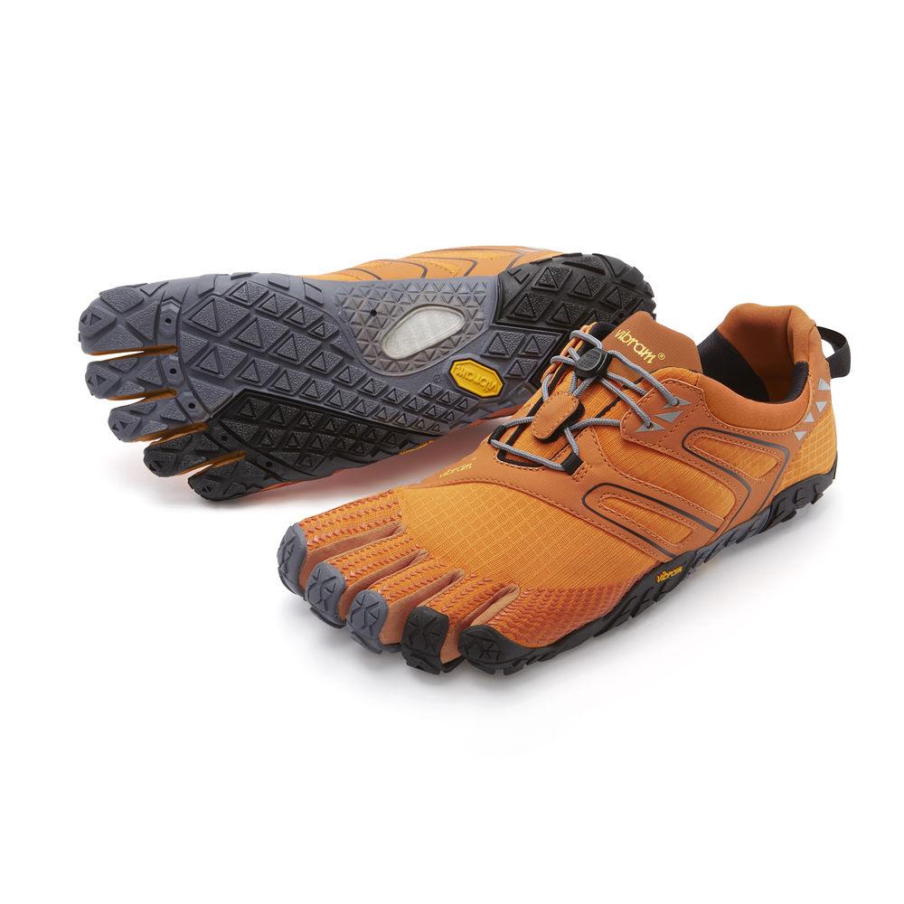 Vibram FiveFingers ビブラムファイブフィンガーズ メンズ V-Trail Orange-Grey-Black / オレンジ-グレイ-ブラック 17M6904 日本正規代理店Barefootinc