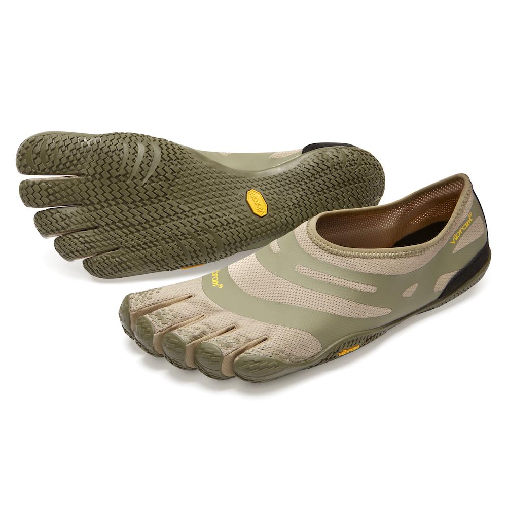 ビブラム Vibram ファイブフィンガーズ メンズ EL-X Khaki-Coyote / カーキ-コヨーテ 18M0101 《五本指 シューズ fivefingers ベアフット トレーニング ランニング 靴》