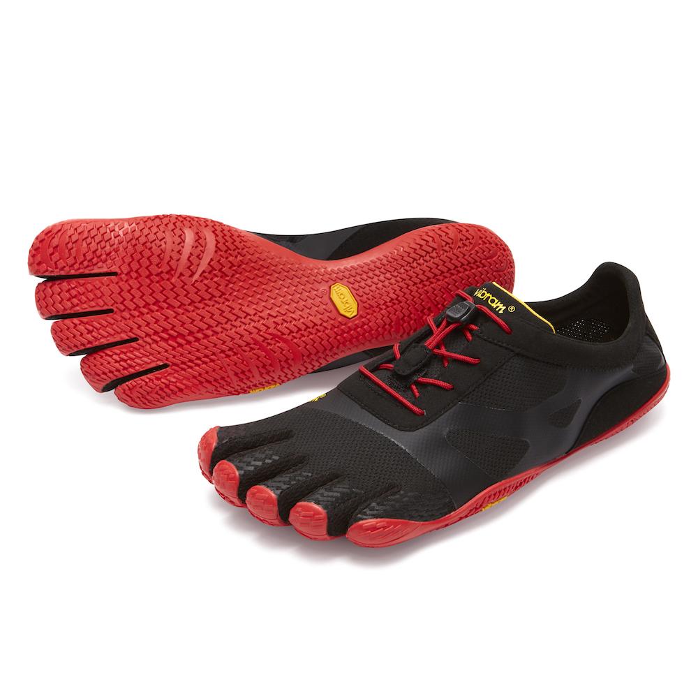 日本正規代理店 送料無料 メンズ 当店は最高な サービスを提供します お買い物マラソン限定ポイント5倍※23日まで ビブラム Vibram ファイブフィンガーズ KSO EVO Black-Red ブラック-レッド FiveFingers 《五本指 ベアフット インドア ふるさと割 ランニング 18M0701 靴》 トレーニング フィットネス シューズ ウォーキング